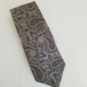 CROMLEY AND FINCH 100% silk tie